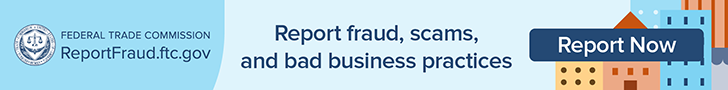 Report fraud, scams, and bad business practices
